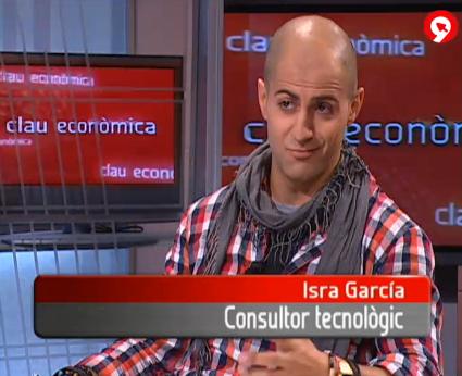 Entrevista a isragarcia para la televisión valenciana