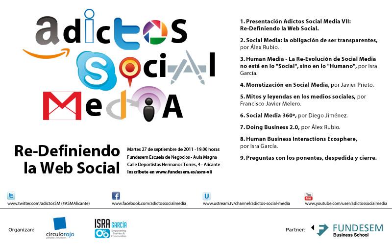 re-definiendo la web social - #ASMAlicante