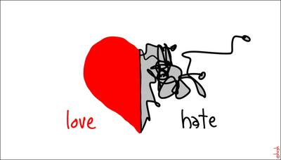el amor es irrazonable