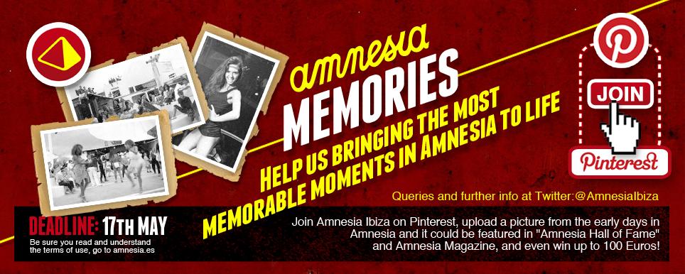 Amnesia pinterest campaign