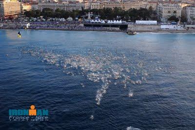niza start swim - #IMNiza2012 - isragarcia
