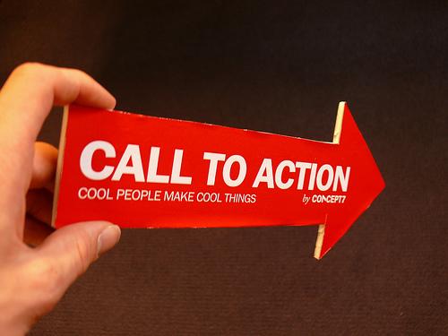 llamadas a la acción