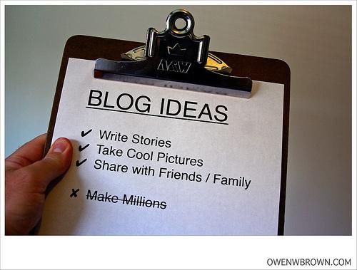 Consejos rápidos y directos para empezar con tu blog