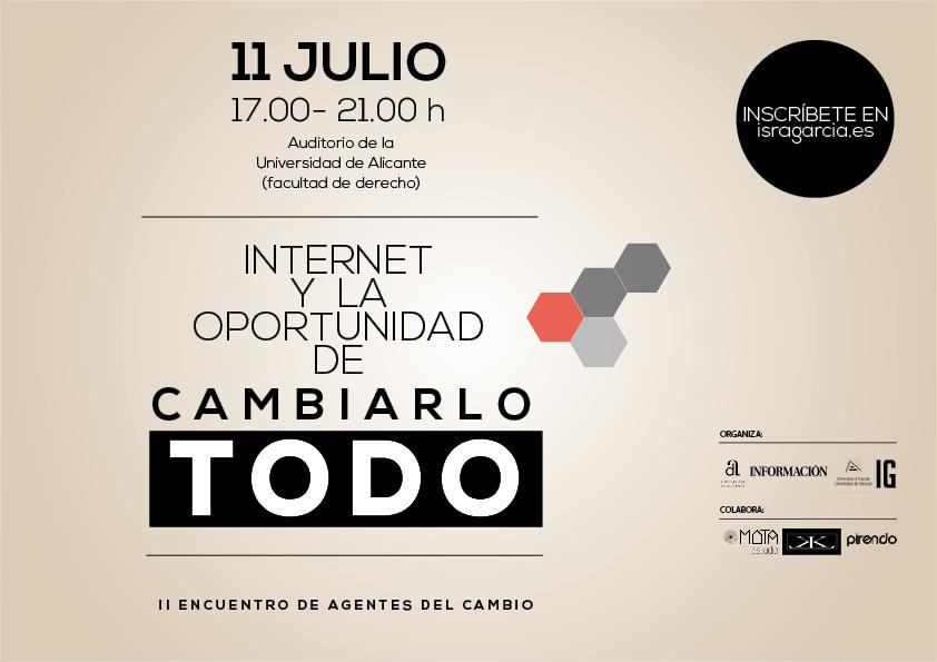 II encuentro agentes del cambio #InternetCambiaTodo