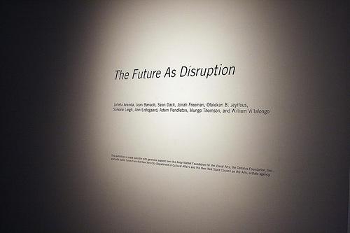 disrupción real