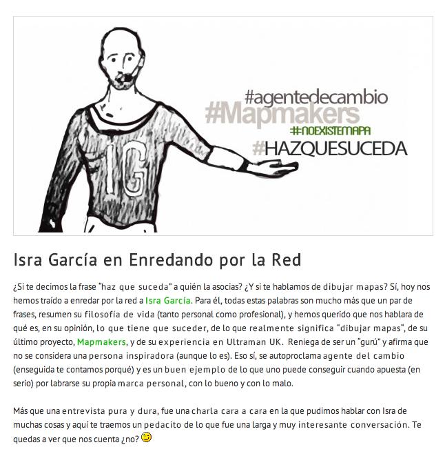 Entrevista Isra Garíca - Enredando por la red