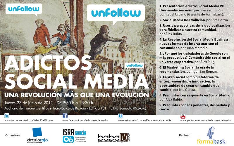 El Programa Oficial de Adictos Social Media VI, en Bilbao