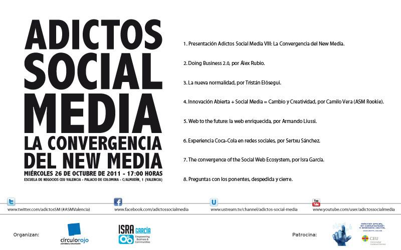 Programa Adictos Social Media VIII, CEU – #ASMValencia