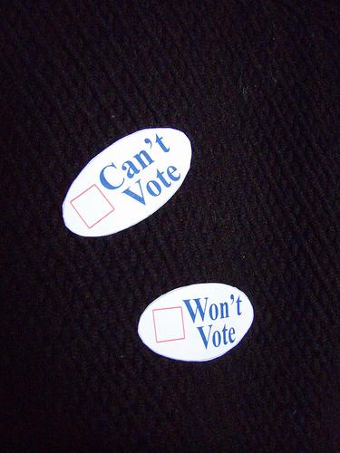 el voto no se pide, se gana