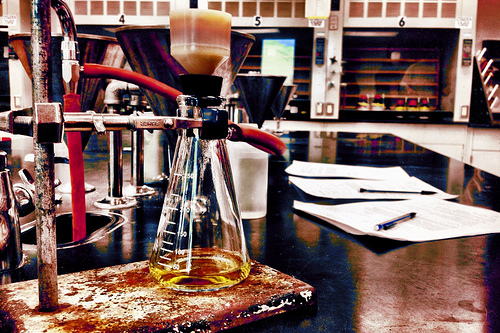 la química ocurre cuando