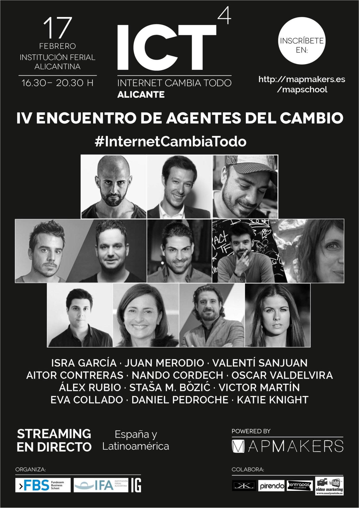 Internet sigue cambiándolo todo (en Elche – Alicante)
