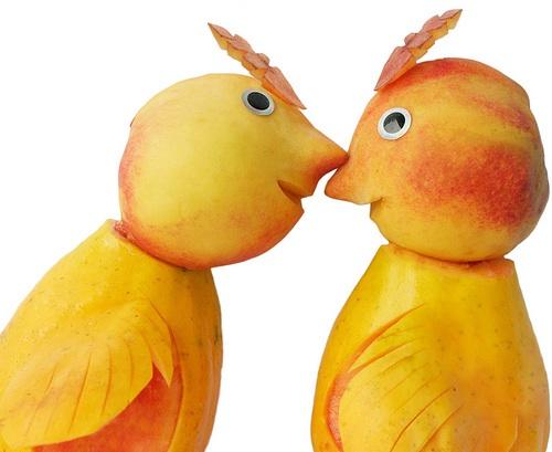 un beso con intención