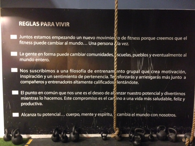 Crossfit cordillera Chile