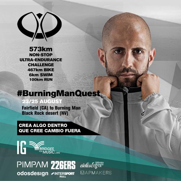 Burning Man Quest: en lo incierto del mapa