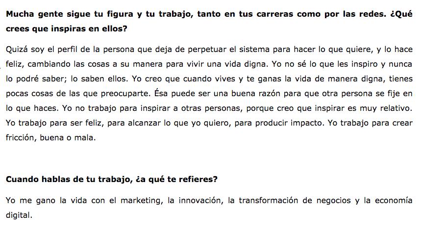 Entrevista Isra Garcia el portal del hombre