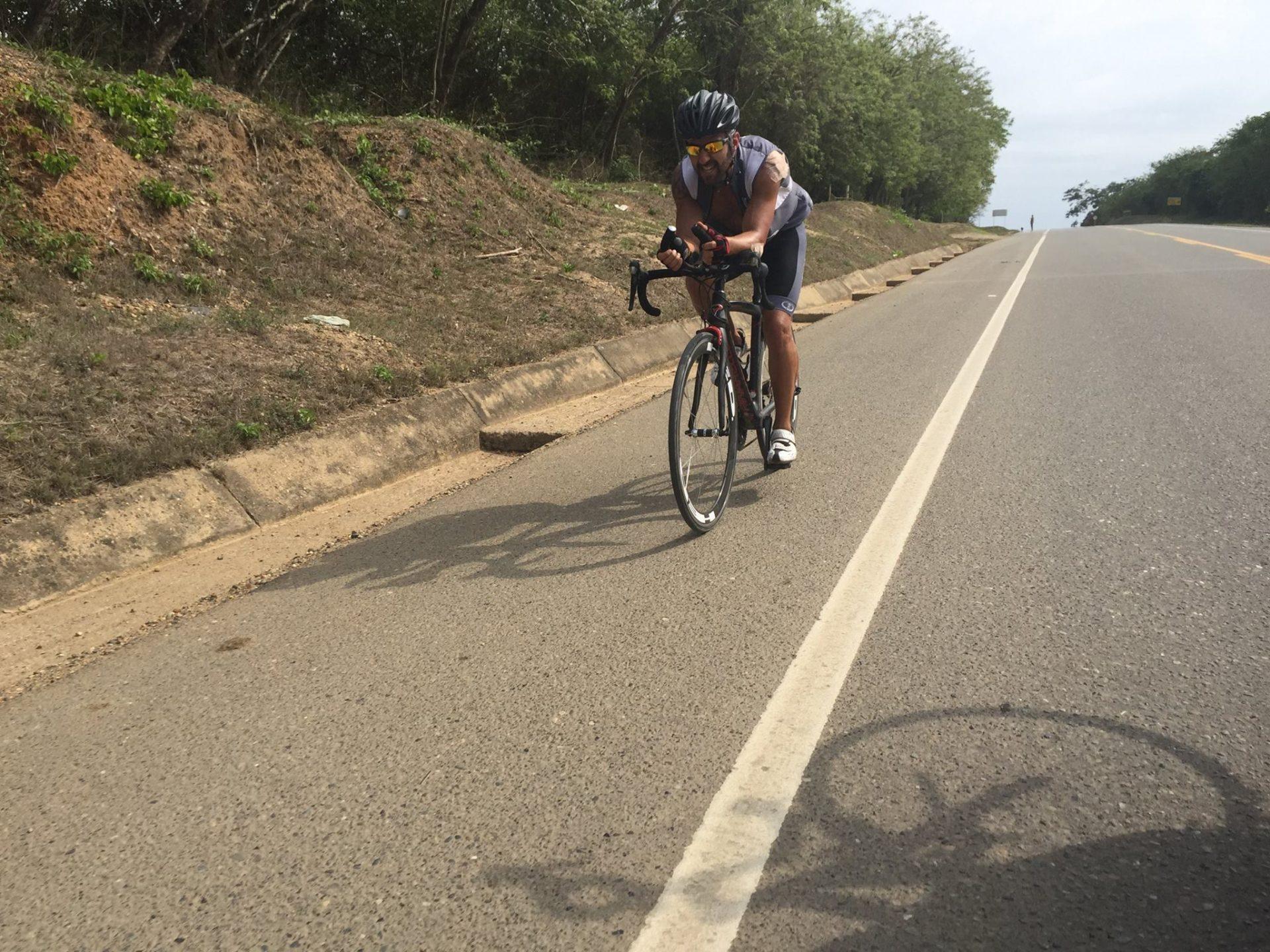 Isra garcia ciclismo desafio por la vida