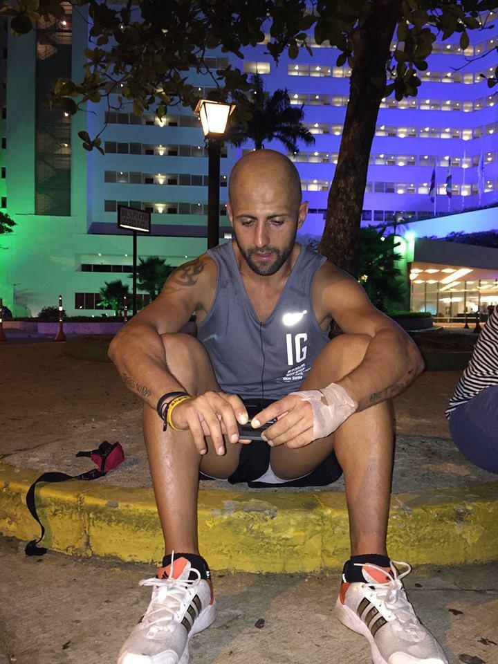 isra garcia desafio por la vida running