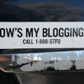 el final del blogging