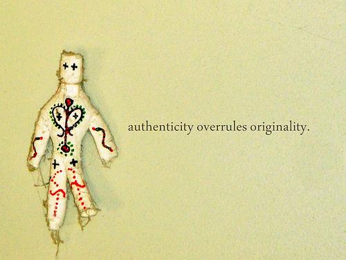 qué significa la autenticidad
