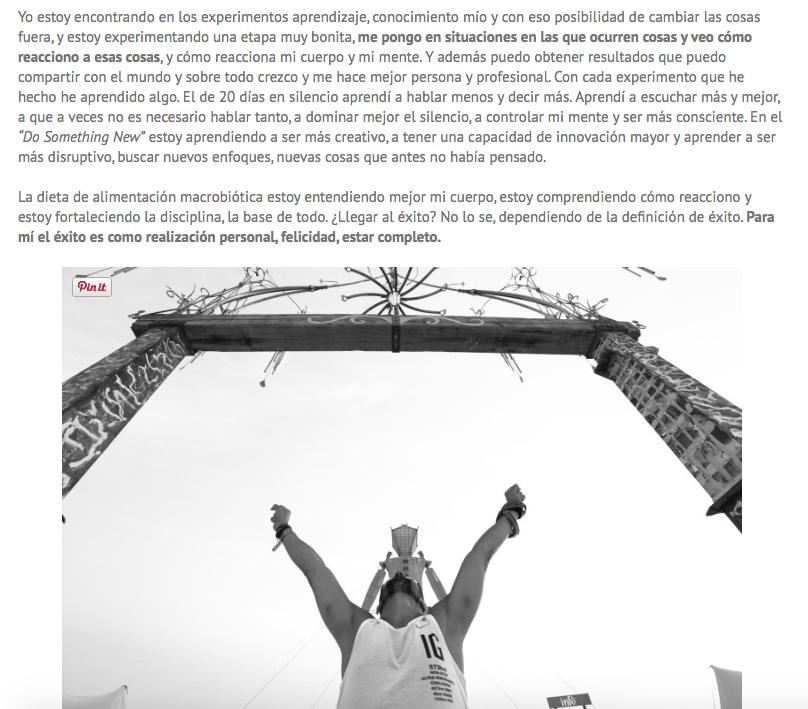 Entrevista Isra García superrhheroes desame time