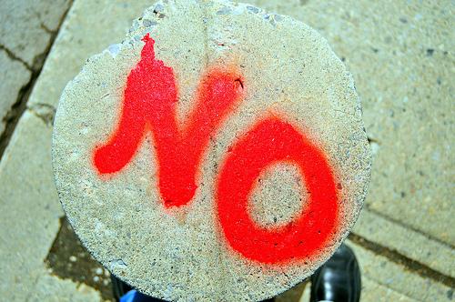 cuatro formas de dar un no