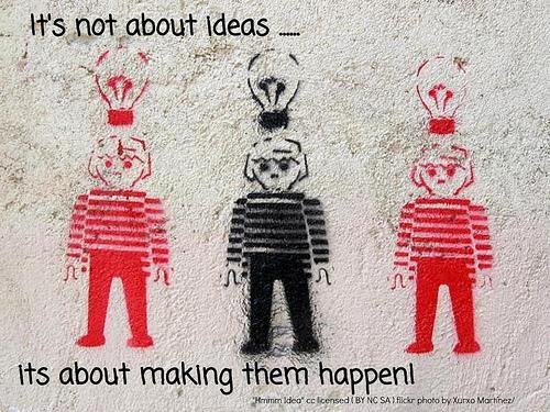 una idea requiere colisión