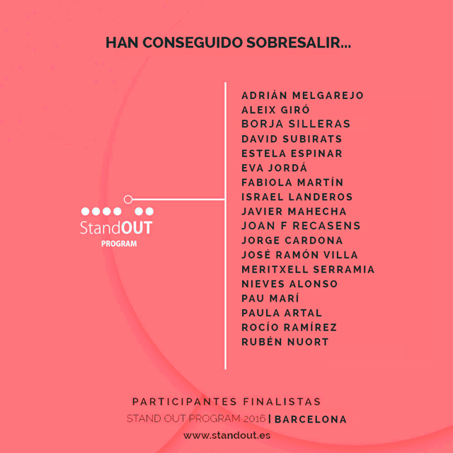 participantes SOP barcelona