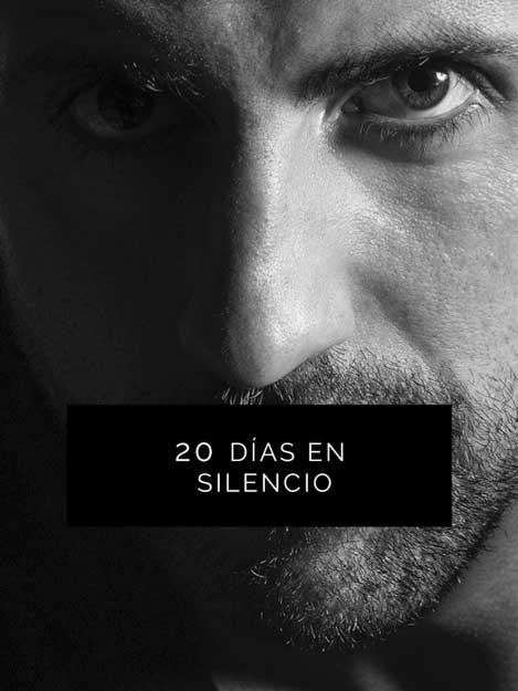 experimento 20 días en silencio ebook - libros Isra García