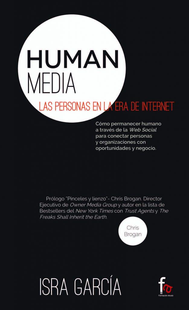 libro human media - libros Isra García