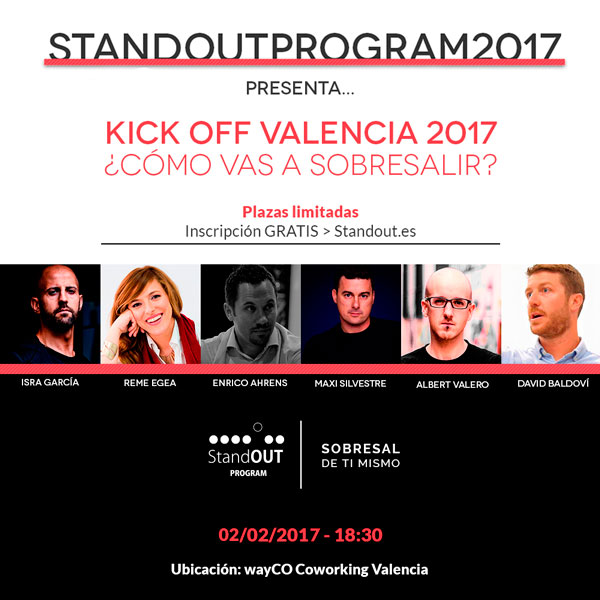 sesión informativa stand out program valencia 2017