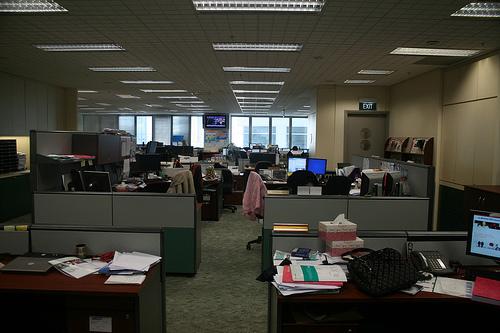 El trabajo de oficina está muerto