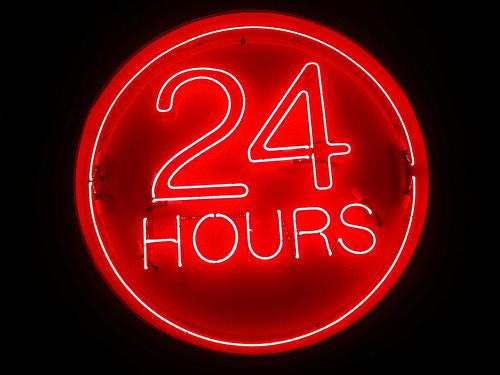 Justo 24 horas