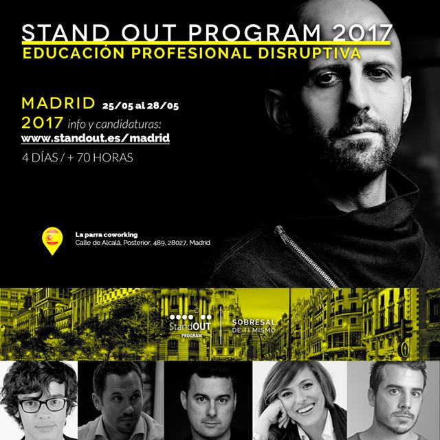 Stand OUT Program Madrid 2017: responsabilízate del hacer