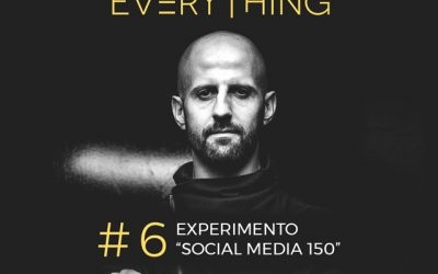 Experimento Social Media 150 – Disrupt Everything Podcast