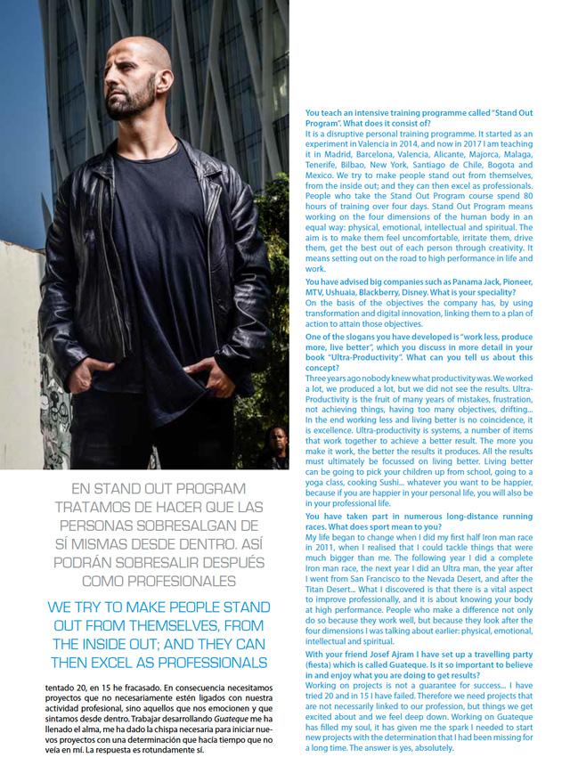 isra garcia iberia air nostrum - Entrevista revista ALADIERNO