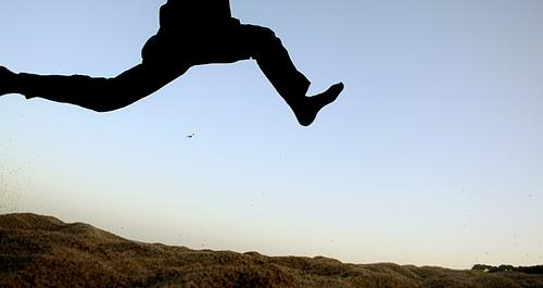 saltar da miedo cuando saltas por primera vez