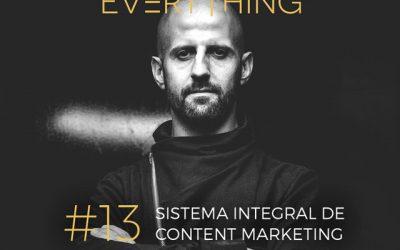 Sistema integral de marketing de contenidos