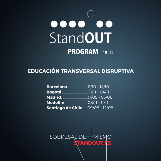 Lanzamiento Stand OUT Program 2018