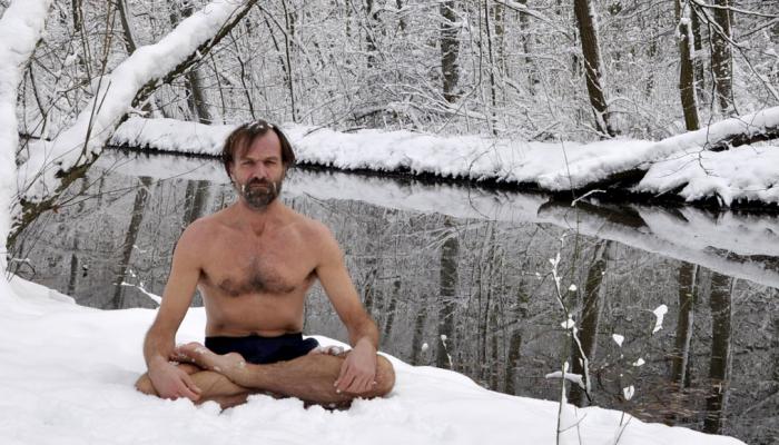 técnica de respiración Wim Hof - Iceman
