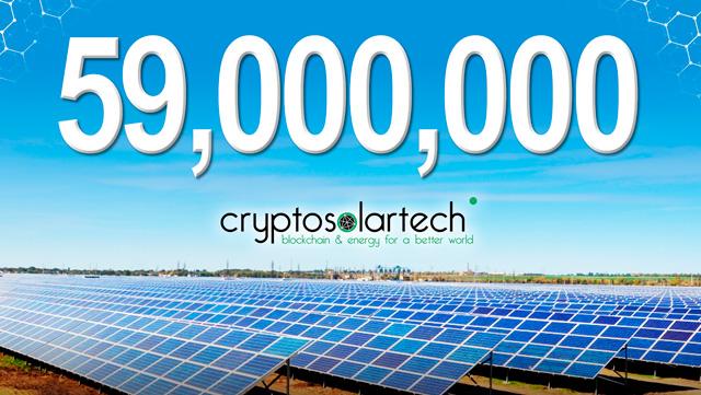 CryptoSolarTech blockchain energía solar