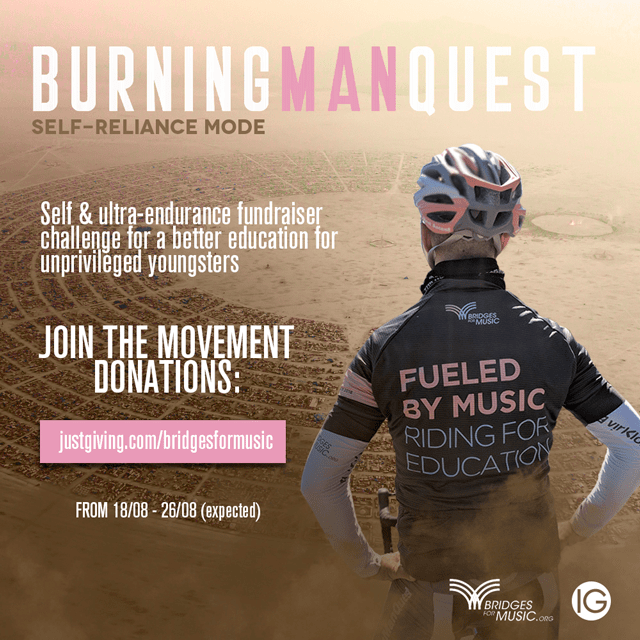 burning man quest race modo autosuficiencia