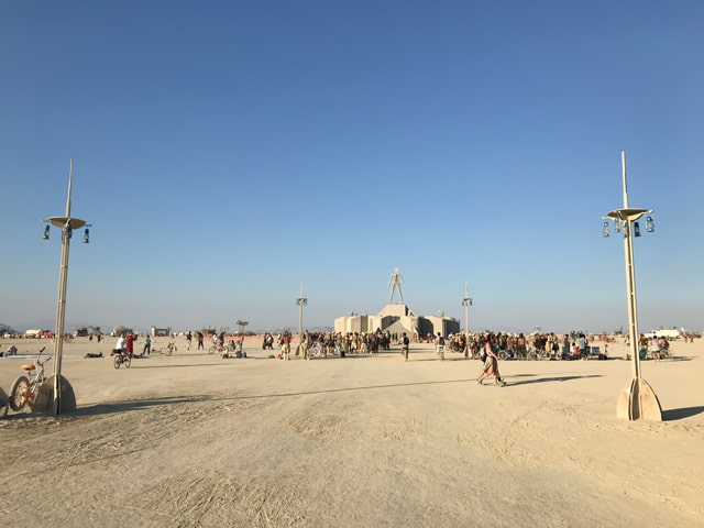 que es burning man y que puedes encontrar