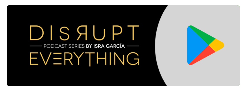 Interromper tudo série de podcasts de Isra Garcia no Google play