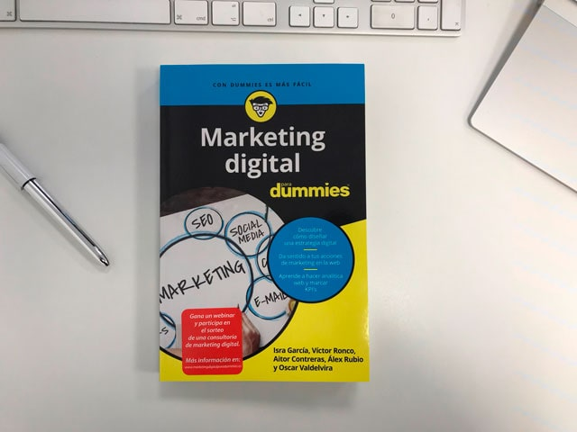 libro marketing digital para dummies - podcast