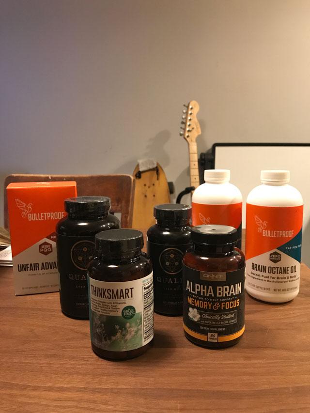 Los nootrópicos y potenciadores cognitivos que he utilizado para el experimento Neurohacking / brainhacking