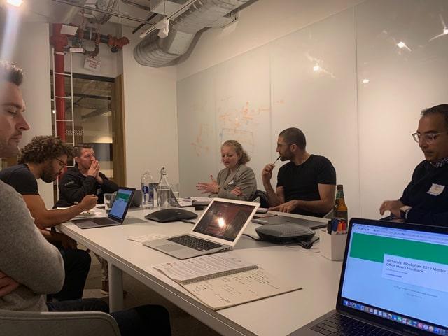 Mentoring en Techstars - el equipo de mentores