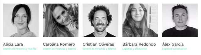 Equipo Programa de excelencia para personas en desempleo Isra García