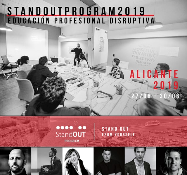 Stand OUT Program Alicante 2019 - cómo sobresalir de ti mismo
