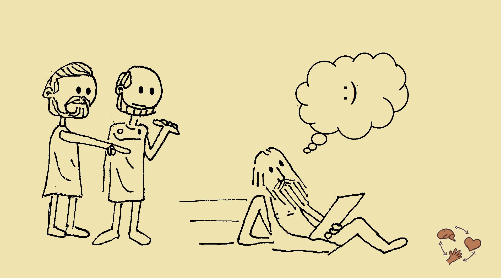 Cómo ser feliz de verdad: busca dentro de ti - eudaomonía