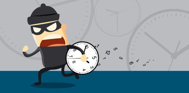 ladrones de tiempo - bloquear interrupciones